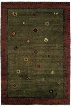 Tibetan Sun (moss) by A Rug For All Reasons   As seen in the Sundance catalogue, this marvelous and extremely versatile rug has been a best-seller at A Rug For All Reasons. Its classic look and contemporary organic design makes it a natural for many of todays more casual homes.