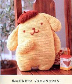 Purin Chan Amigurumi - FREE Crochet Pattern and Tutorial