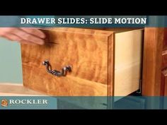 Choosing the Right Drawer Slide / Rockler How-to