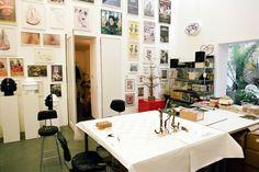 Freunde von Freunden — Tim Noble & Sue Webster — Artists, Studio, Shoreditch, London — http://www.freundevonfreunden.com/workplaces/tim-noble-and-sue-webster/