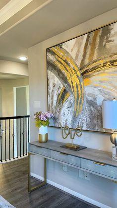 Decor Home Living Room, Living Room Colors, Living Room Furniture, Living Room Designs, Foyer Wall Decor, Home Entrance Decor, Home Interior Catalog, Westin Homes, Pinterest Room Decor