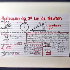 Aplicação da 2ª Lei de Newton  #fisica #resumo #enem #vestibular #vestibulanda #vestibulando #medbulanda #medbulando #vaitermedsim #foconojaleco #estudaquepassa #projetomedicima #vemmed #study #medicina #resumosdaana