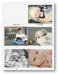 An ABC StoryBook from Creative Memories - perfect #gift idea!