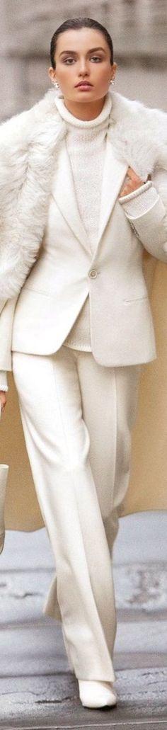 Ralph Lauren Fall 2014 Collection Leonarda Wool Cashmere Coat ~ CE♥