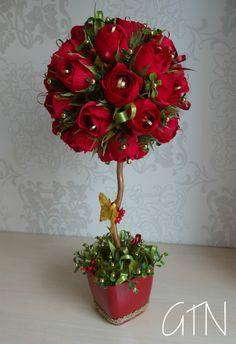 Candy Flowers, Paper Flowers Craft, Flower Crafts, Diy Flowers, Fabric Flowers, Chocolate Flowers Bouquet, Fleurs Diy, Candle Wedding Centerpieces, Flower Packaging