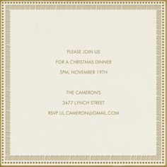 """Fray Border"" Invitation, by Hello Tenfold, Paperless Post"