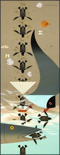 Charley Harper Prints | 15 Charley Harper Prints for $100 or Less | Fabulous Frames & Art Blog