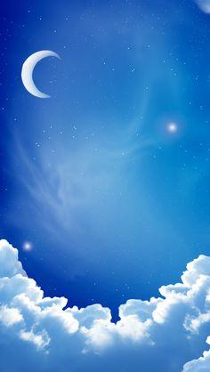 Cloud moon iPhone Wallpapers