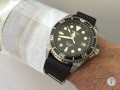 Casual-Cool Style for Seiko Sumo... #seikowatches #watch #watchband #watchstrap #watchlover #watchlove #womw #wus #wornandwound #seikolovers #men #menfashion #wristwatch #SBDC001 #SEIKOSUMO