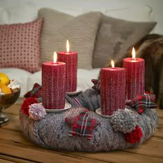 Advent wreath ideas