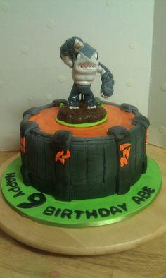 Skylander Terrafin Cake
