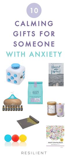 If you have a loved one with anxiety, you might be wondering if there's anything you can get for them as a way to show your support, especially if you can't be with them all the time. Besides actually being there for someone, listening to them, and being a good friend, here are 10 gifts for someone with anxiety (or gifts for yourself :)). #anxiety #anxietygifts