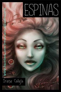 """Portada a color para el cómic """"Espinas"""", que aparecerá (en blanco y negro) en el 4º número de The RocketMan Project ©Irene Calleja"""