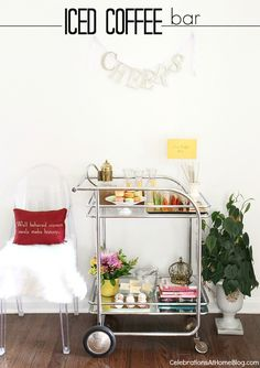 SET UP AN ICED COFFEE BAR #coffee