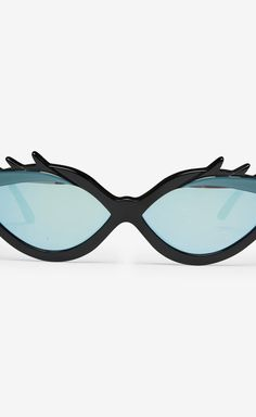 99a7eb1d57 Pollini Balck And Blue Sunglasses