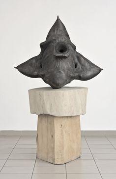 Péter Gálhidy  Sulyom (Water chestnut) 2006, lombardy poplar (jegenyenyár) Water Chestnut, Contemporary Sculpture, My Works