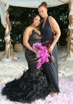 Nosee Rosee: FIRST PHOTOS: Monifah Weds Partner In Hawaiian Wedding