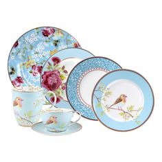 Plato Postre Azul Floral Collection I 21 cm I Porcelain Dinnerware, Porcelain Ceramics, Royal Doulton, Pip Studio, Architecture Tattoo, Carnival Glass, Booth Design, Home Repair, Chinoiserie