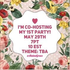 Yay!!! Let's Party The day has finally come!!! I am so honored to be given the opportunity to be a co- host for the 7:00 PT/10:00 EST Party on May 29th. The theme is yet to be determined. Feel free to tag yourself or a friend if you have a posh compliant closet with amazing finds. I will be going through and liking and sharing potential picks over the next few weeks. Yay can't waitHappy Poshing!! Bags