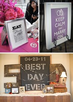 KEEP CALM & MARRY ON! Love it!