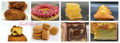 Belgian Food, Eclairs, Beignets, Macarons, Biscuits, Doughnut, Fondant, Caramel, Deserts
