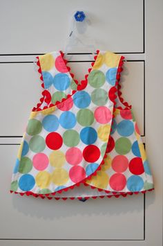 Aesthetic Nest: Sewing: Birthday Dresses for Audrey & KateThis polka dot fabric was the inspiration for Audrey& birthday party. I think it looks so happy. I bought it t.adorable summer top for aBridget Andersons Floral Jackson ByI made Kelly lots of Sewing Kids Clothes, Sewing For Kids, Baby Sewing, Sewing Diy, Children Clothes, Cute Little Girl Dresses, Dresses Kids Girl, Kids Outfits, Baby Outfits