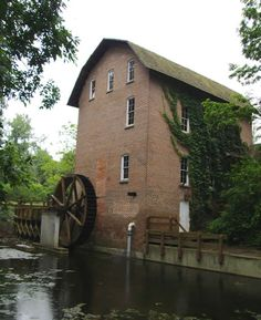 John Woods Grist Mill in Hobart, IN.
