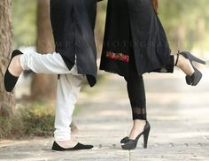 Pakistani wedding photography   great pose for both bride and groom to show shoes   m kamran photography