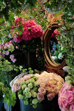 Florist in Paris, France