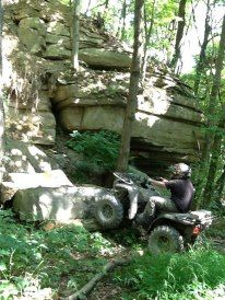 Hatfield and McCoy Trails..