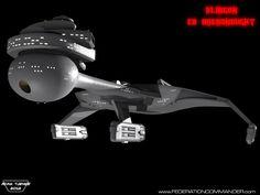 Klingon C8 Dreadnought by Adam-Turner on deviantART
