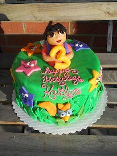 Dora Cake by Crazy Creative Shelby