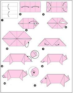 * Origami varken
