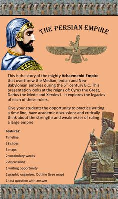 A lesson about the Persian Empire: location, history, strengths and weaknesses.   Who were the Persians? Where was their empire? Why did they want to conquer Greece?   Ancient Greece versus the Persian Empire. Everyone expected Persia to dominate--Win the war--Add Greece to its expanding empire--What happened? How did the underdog vanquish the mighty Persian army?