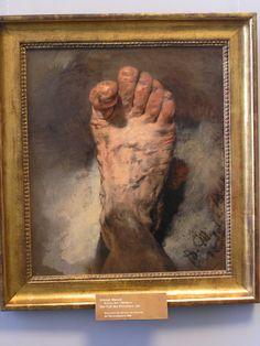Adolf Friedrich #Erdmann von Menzel : The foot of the artist - Adolph Menzel - Altes Museum