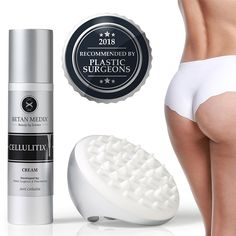 Proven by Plastic Surgeons: Cellulite Cream and Massager