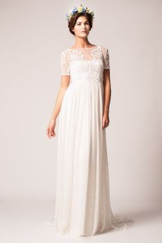 ad608f794098 Gown by Temperley London.Check out more gorgeous dresses in our Temperley  London wedding gown