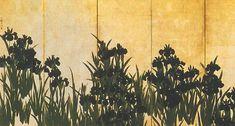 irises, Ogata Kōrin
