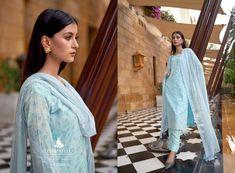 KAAYNAAT-CINDERELLA-PAKISTANI-SUITS-MANUFACTURER-SURAT-2 Latest Pakistani Suits, Cosmos, Cinderella, Sari, Luxury, Fashion, Saree, Moda, Fashion Styles