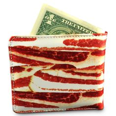 because everyone needs a bacon wallet.  #bacon