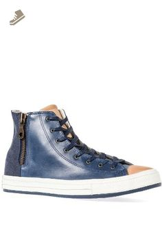 ac1ba9fd7bc652 Converse Sneaker Chuck Taylor All Star Premium Post Zip in Blue