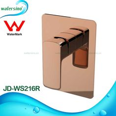 Rose Gold Plated Shower Mixer Wall Mounted Shower Set