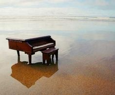 piano plus ocean...would LOVE to play it in this setting. :)