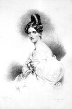 Countess Franziska Kinsky of Wchinitz and Tettau