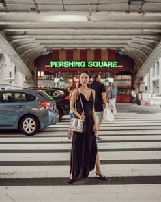 Dressing Up a Classic Jumpsuit - Melissa C. Plunging Neckline, Body Shapes, Dress Up, Jumpsuit, Legs, Chic, Classic, Black, Style