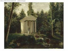 Le Temple de l'Amour dans le parc de Malmaison - Jean Louis Victor Viger du Vigneau.