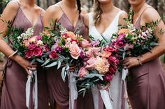 LU DIAMOND FLOWERS | Katie's rainbow bouquets @ludiamondflowers