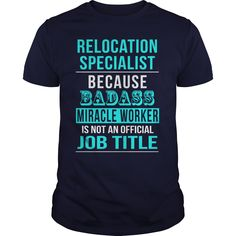 Relocation Specialist T-Shirts, Hoodies. BUY IT NOW ==► https://www.sunfrog.com/LifeStyle/Relocation-Specialist-Navy-Blue-Guys.html?id=41382