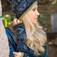 DG366-04 Osroso lue & pulsvarmere   Dale Garn Winter Hats, Clothes, Fashion, Outfits, Moda, Clothing, Fashion Styles, Kleding, Outfit Posts