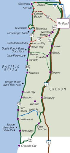 Portland coast trip